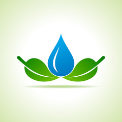Ecology Concept - save nature stock vector
