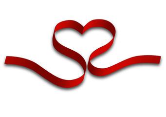 saint valentin ruban