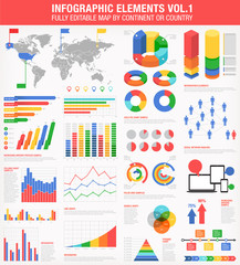 Colorful Infographics Set 1