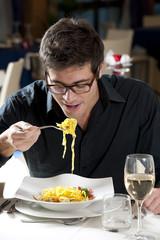 Man At The Restaurant