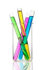 Test tubes in beaker