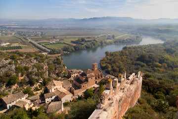 Landscape around Miravet in Catalonia