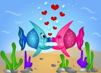 Exotic fish love