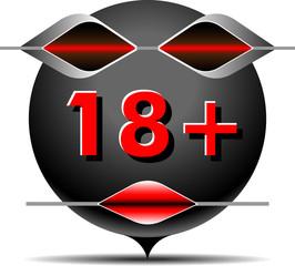 icon content 18+