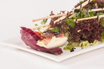 Mixed Salad with roasted turkey