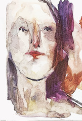 Color female portrait