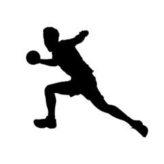 Handball-Torwurf