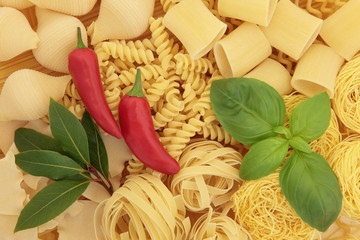 Pasta and Herbs