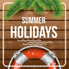 summer holidays (flyer, poster, banner)