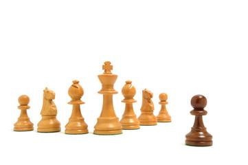 Einer gegen alle - Alle gegen einen - Schachfiguren 1