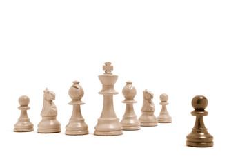 Einer gegen alle - Alle gegen einen - Schachfiguren 2