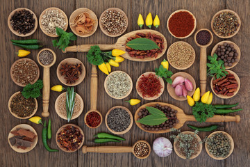 Chilli Spices and Herbs