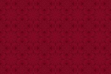 kaleidoscopic knit pattern