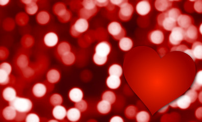 Valentine Heart Backdrop