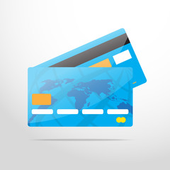 bank card web flat icon
