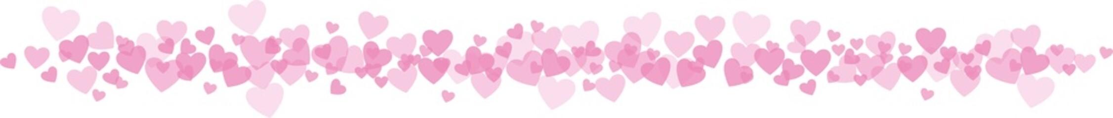 amour coeur frise horizontal kazy
