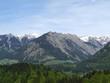 canvas print picture - berglandschaft