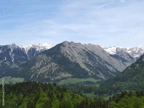 canvas print picture berglandschaft