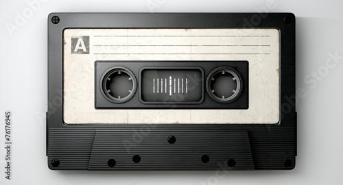 Leinwanddruck Bild Audio Cassette Tape
