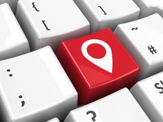 Keyboard map pointer key