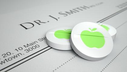An Apple A Day Pill Prescription