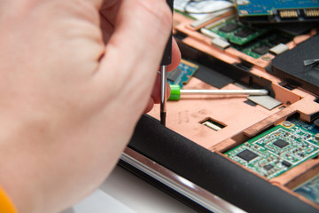 Professional laptop repair
