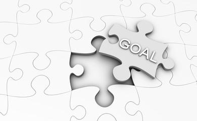 Goal Jigsaw Puzzle