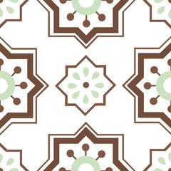 Seamless ornament tiles
