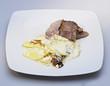 GRATIN DAUPHINOIS rotie de porc