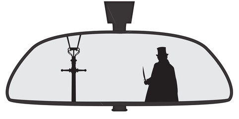Jack The Ripper In Rear View Mirror