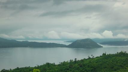 Philippines Volcano time lapse