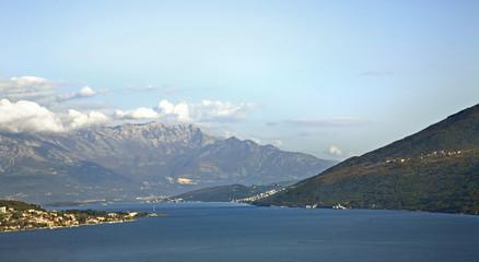 Adriatic sea in Herceg Novi. Montenegro