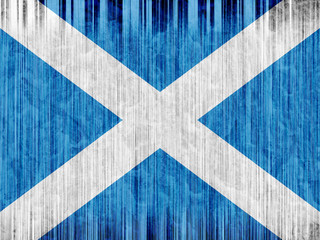 Scotland flag paper texture