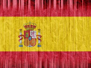 Spain flag paper texture
