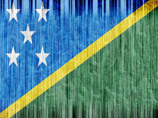 solomon islands flag paper texture