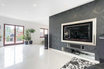 Big tv in a living room