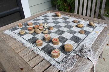 Handmade checkers