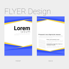 template modern design for business and corporate