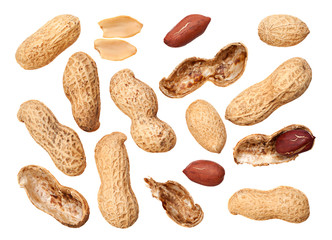 Peanut closeup background
