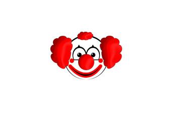 Clown Gesicht