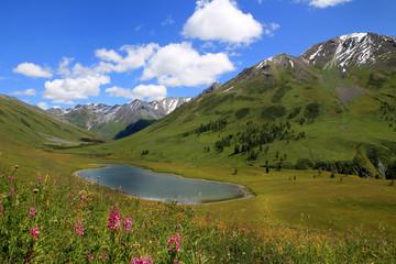 Вид на Теплое Озеро, Алтай