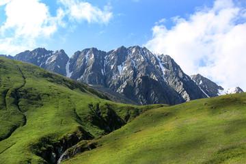 Вид на г.Урусвати, Алтай