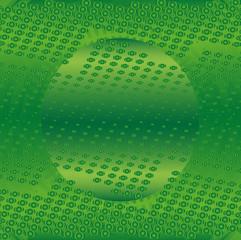 Dot green background