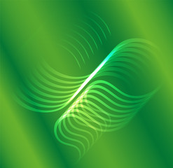background green abstract