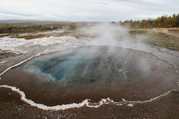 Schwefeliges, heisses  Wasserloch | Island