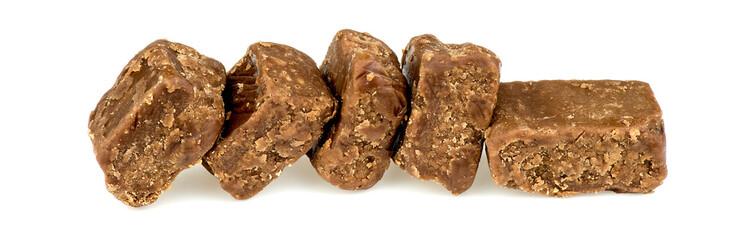 Chocolate fudge brownie pieces