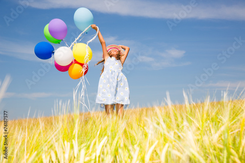 canvas print picture happy kid