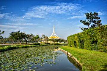 View of Suan Luang Rama 9 public park