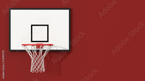 obraz lub plakat obręcz do koszykówki
