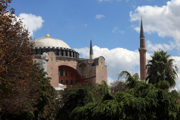 View of Hagia Sophia